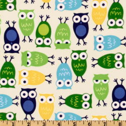 Urban Zoologie Owls Blue