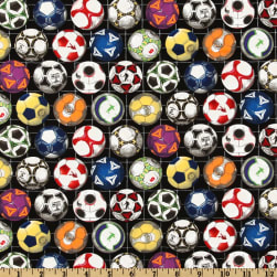 Sports Collection Soccer Balls Black
