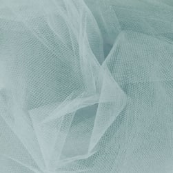 54' Wide Tulle Williamsburg Blue Fabric