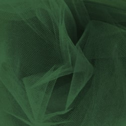 54' Wide Tulle Emerald