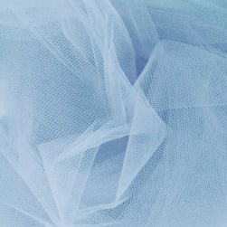 54'' Wide Tulle Cotillion Blue