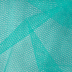 Nylon Netting Teal Fabric