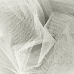 54'' Wide Tulle Diamond White