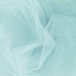 108'' Wide Nylon Tulle Aqua