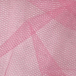 Nylon Netting Dusty Rose Fabric
