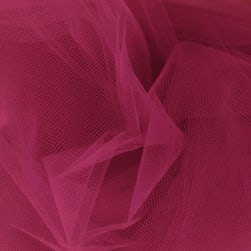 54'' Wide Tulle Light Garnet