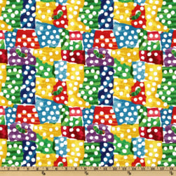The Very Hungry Caterpillar Dots Multi Fabric