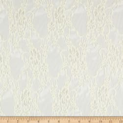 Giselle Stretch Floral Lace Ivory
