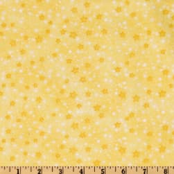 Comfy Flannel Stars Yellow