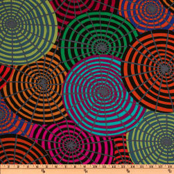 Kaffe Fassett Winter 2011 Collection Parasols Black Fabric