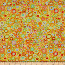 Kaffe Fassett Paperweight Yellow Fabric