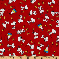 Happiness Is…Peanuts Snoopy & Woodstock Red