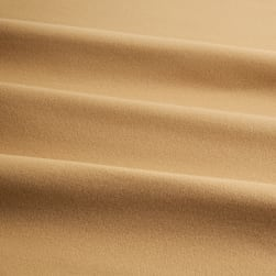 Kaufman Flannel Solid Tan Fabric