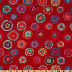Kaffe Fassett Collective 2012 Plink Red