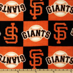 MLB Fleece San Francisco Giants Blocks Orange/Black
