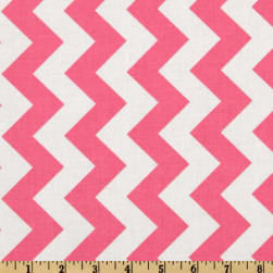 Riley Blake Chevron Medium Hot Pink