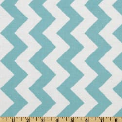 Riley Blake Chevron Medium Aqua