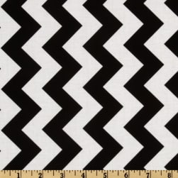 Riley Blake Chevron Medium Black