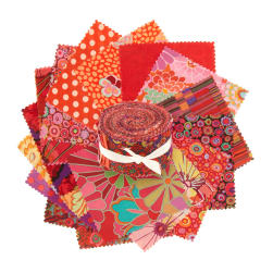 "Classics by Kaffe Fassett 2.5"" Design Roll Red"