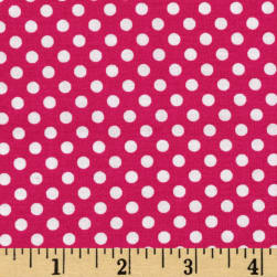 Spot On Mini Dots Fuchsia