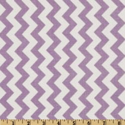 Riley Blake Chevron Small Lavender Fabric