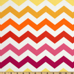 Michael Miller Stripes Chic Chevron Sun Yellow