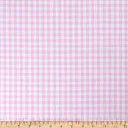 "Richcheck 60"" Gingham Check 1/4"" Pink"