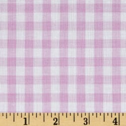 Wide Width 1/4 Gingham Check Lilac