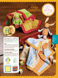 Ellie Mae Cozy Comforts Toy & Blanket Pattern