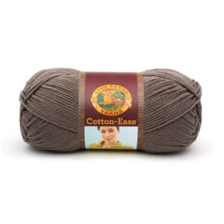 Lion Brand Cotton-Ease Yarn (122) Taupe