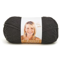 Lion Brand Vanna's Choice Yarn (153) Black