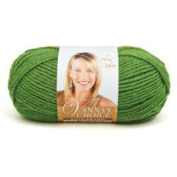 Lion Brand Vanna's Choice Yarn (172) Kelly Green