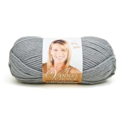 Lion Brand Vanna's Choice Yarn (149) Silver Grey