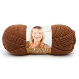 Lion Brand Vanna's Choice Yarn (124) Toffee