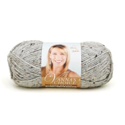 Lion Brand Vanna's Choice Yarn Grey Marble (401)