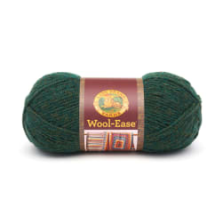 Lion Brand Wool-Ease Yarn (180) Forest Green Heather
