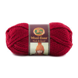 Lion Brand Wool-Ease Thick & Quick Yarn (138) Cranberry