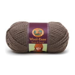 Lion Brand Wool-Ease Thick & Quick Yarn (122) Taupe
