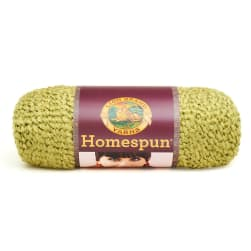 Lion Brand Homespun Yarn (399) Apple Green