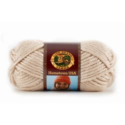 Lion Brand Hometown USA Yarn (099) Los Angeles Tan
