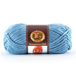 Lion Brand Hometown USA Yarn (107) Charlotte Blue
