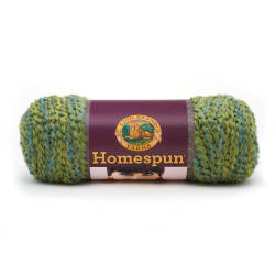 Lion Brand Homespun Yarn (415) Pesto