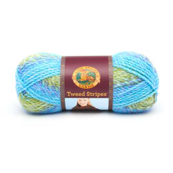 Lion Brand Tweed Stripes Yarn (210) Lakeside