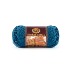 Lion Brand Kitchen Cotton Yarn (106) Blueberry