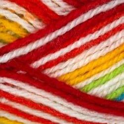 Lion Brand Jamie Yarn (205) Caribbean Stripes