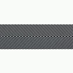 1 1/2'' Twill Tape Chevron Black