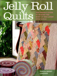 Jelly Roll Quilts Pattern Book