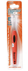 Crochet Lite Crochet Hook Size E 3.5mm Orange