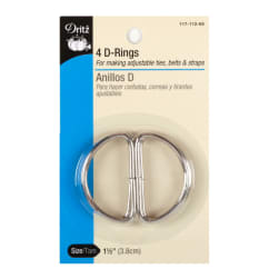 D-Rings Nickel 1-1/2''