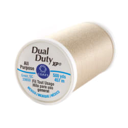 Dual Duty XP General Purpose Thread 500 YD Ecru